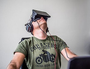 """Orlovsky and Oculus Rift"" by http://galyonkin.com http://creativecommons.org/licenses/by-sa/2.0/deed.en http://en.wikipedia.org/wiki/File:Orlovsky_and_Oculus_Rift_%289084790214%29.jpg"